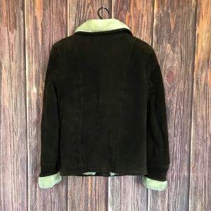 Caliber Jackets & Coats - Caliber Leather Faux Fur Jacket